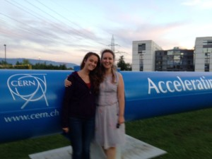 Elif visited CERN Labs in Switzerland