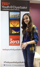 Elif at TEDx Diyarbakir, Turkey